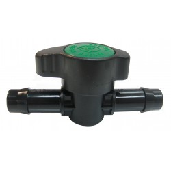 Antelco Green Back Low Density Irrigation Barb Valve 13mm - 20 Pack