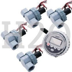 Orbit 4 Station Irrigation Controller Battery Operated Solenoid Valves 4 X 25mm