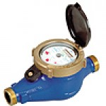 ARAD 15mm Multi-Jet Magnetic Water Meter BSP