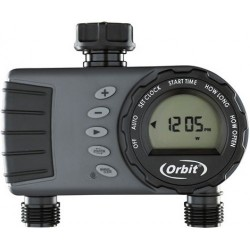 Orbit 1 Dial 2 Outlet Tap Timer